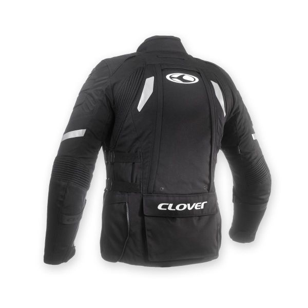 veste moto clover crossover 3 wp airbag equipement motard. Black Bedroom Furniture Sets. Home Design Ideas
