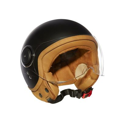 Casque Moto Jet ELEMENTS -MÂRKÖ (Noir-Matt)