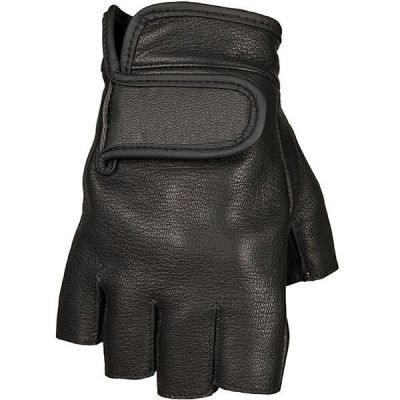 GANTS MOTO CUIR LE FINGERLESS - ORIGINAL DRIVER