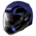 Casque Modulable NOLAN N100 5 Consistency n-Com Flat Cayman Blue