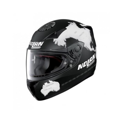 Casque Moto Intégral NOLAN - N60 5 Gem.replica C. Checa Flat Black