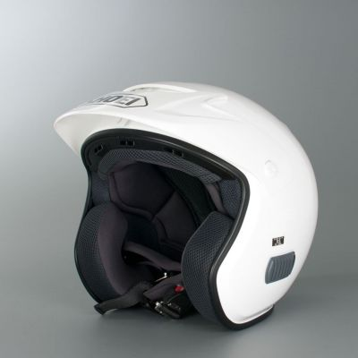 Casque Cross Homme SHOEI TR3 PLAIN WHITE