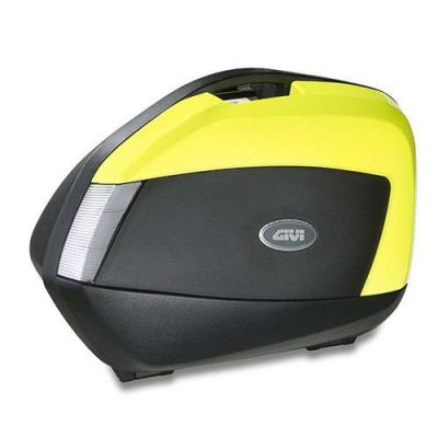 VALISES MOTO MONOKEY SIDE V35 TECH FLUO - GIVI