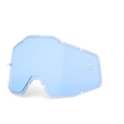 Racecraft/Accuri/Strata replacement injected lens 100% - Blue Anti-brouillard