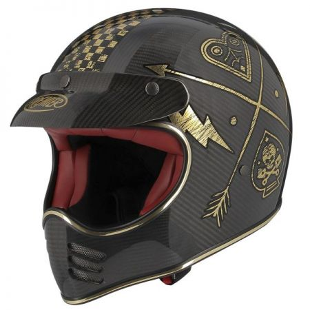 CASQUE MOTO CROSS MX CARBON NX