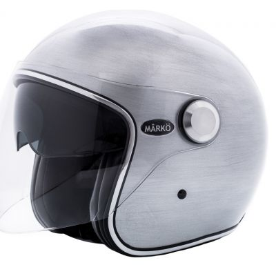 CASQUE MARKO BOREAL SCRATCHED SILVER