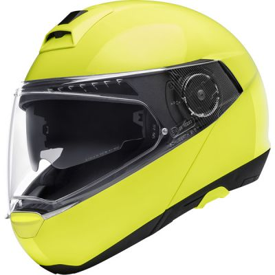 CASQUE C4 PRO ECE Fluo Yellow-SCHUBERTH