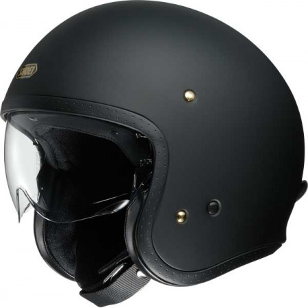 casque moto jet homme shoei j o matt noir equipement motarde. Black Bedroom Furniture Sets. Home Design Ideas